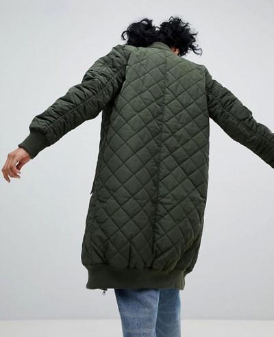 Women-Stylish-Longline-Bomber-Varsity-Jacket
