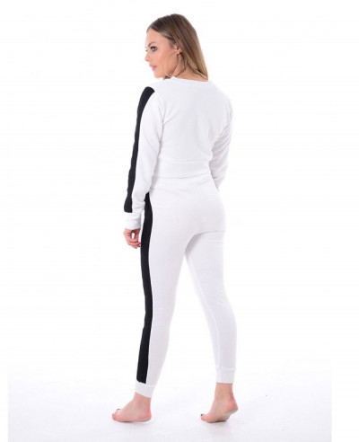 Women-White-Fashion-Cotton-Fleece-Fashion-Tracksuit