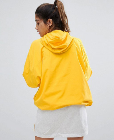 Women-Yellow-Windbreaker-Jacket