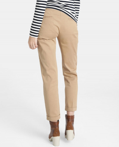 Women's-Skinny-Trousers-With-Turned-Up-Hem-97-%-Cotton