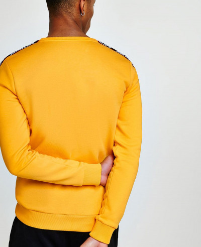 Yellow-Taping-Men-Sweatshirt
