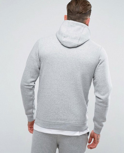 Zip Up Hoodie With Futura Logo In Grey