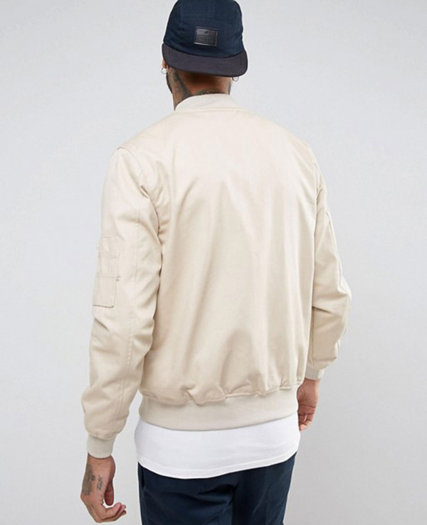 Bomber-Jacket-With-Sleeve-Zip-in-Stone