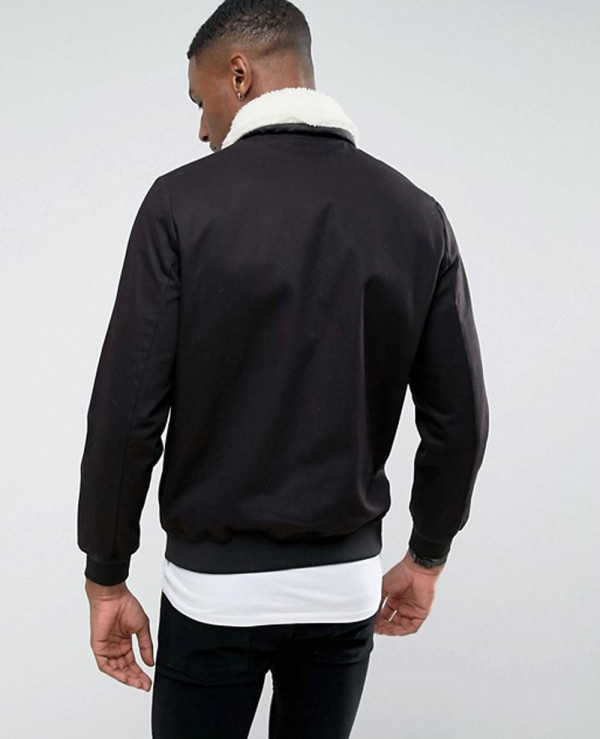 Cotton-Jeans-Bomber-Jacket-With-Borg-Collar-Fur-In-Black-Jacket