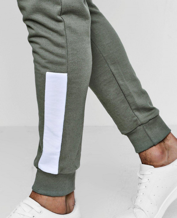 High-Quality-Men-Skinny-Fit-Joggers-With-Panelled-Cuff
