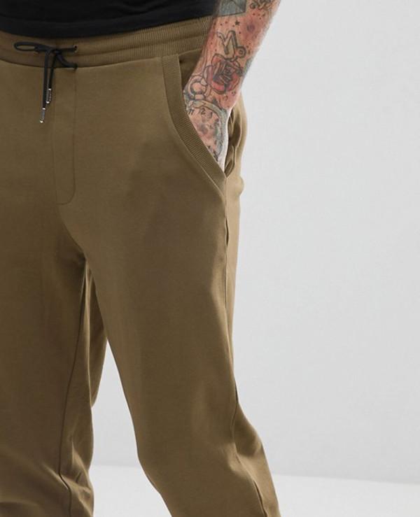 Interlock-Sweat-Joggers-In-Khaki