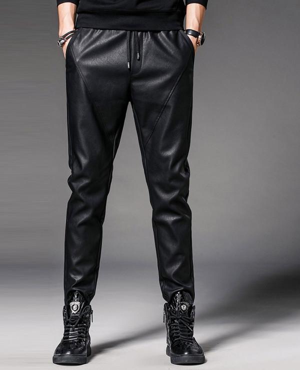 Men-Faux-Leather-Pants-Nightclub-Skinny-Pencil