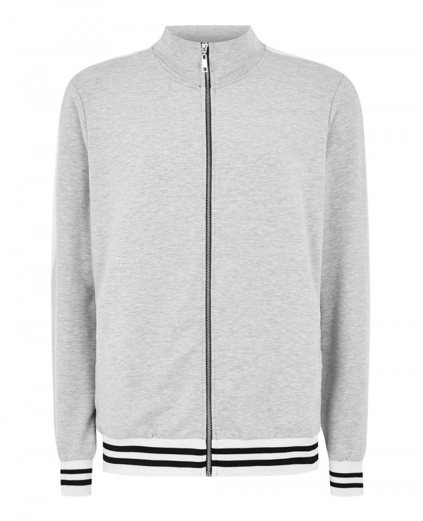 Men-Treack-Top-Full-Zipper-Grey-Hot-Sweatshirt-Jacket
