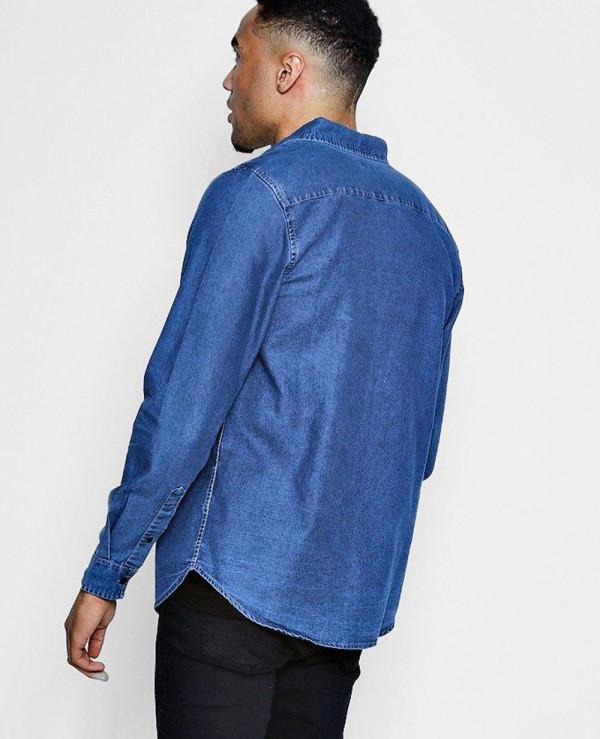 New-Look-Men-Fashion-Denim-Shirt