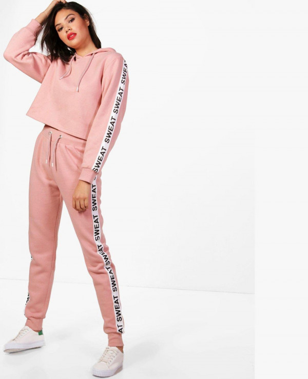 New-Look-Womens-Pink-Tracksuit