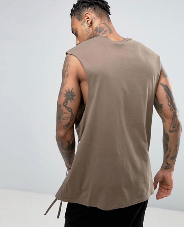 6f5f39a590e67 Oversized Sleeveless Most Selling Men Custom Tank Top Wholesale ...