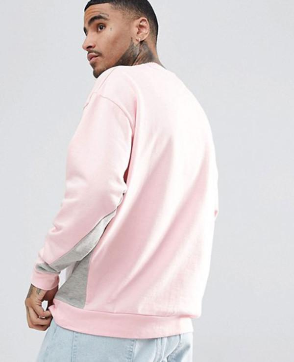 Oversized-Sweatshirt-With-Colour-Blocking