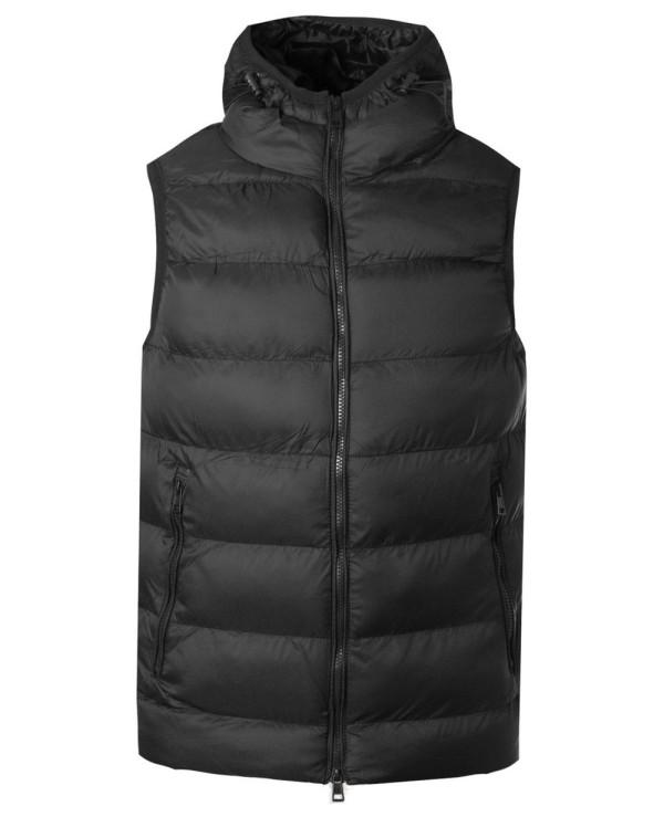 Sleeveless-Puffer-Padded-With-Hood-Vest