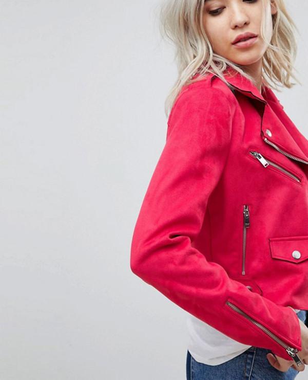 Suede-Look-Biker-Jacket