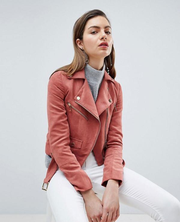 Suedette-Biker-Jacket-with-Gold-Details