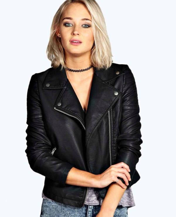 Women-Black-Leather-Biker-Jacket