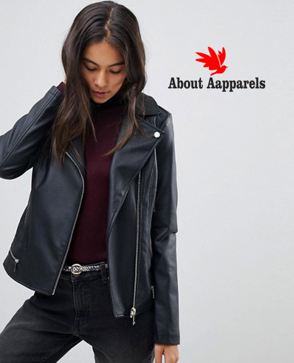 Women-High-Quality-Custom-Leather-Look-Biker-Jacket