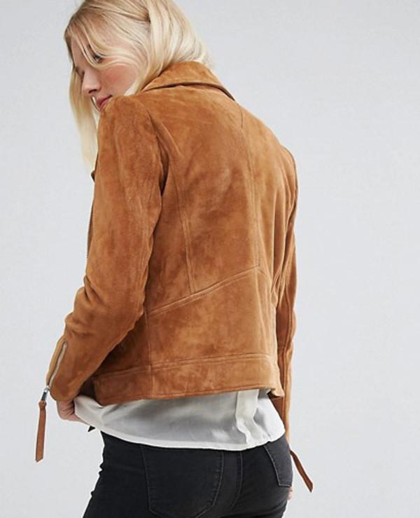 Women-Real-Suede-Biker-Leather-Jacket