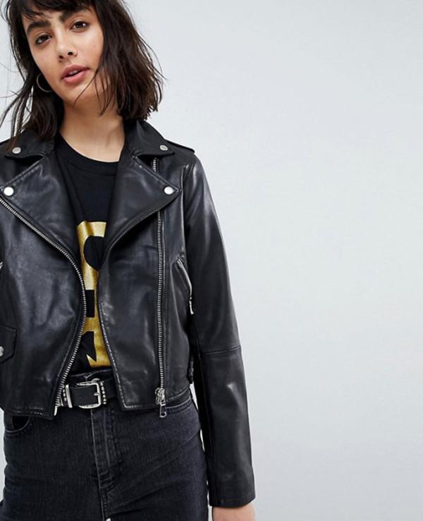 Women-Short-Leather-Biker-Jacket